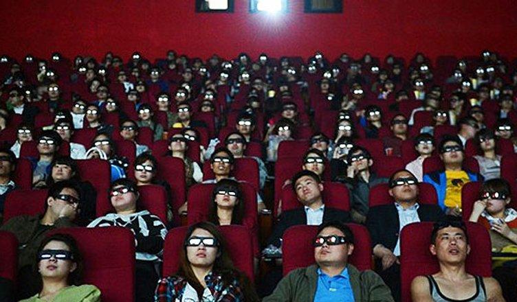 pubblico cinema in cina