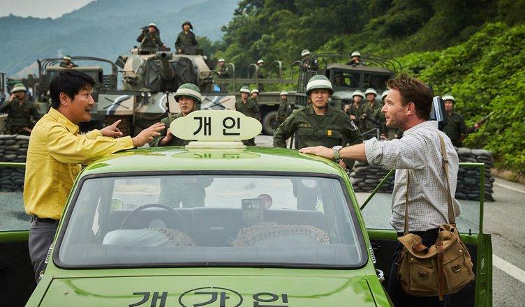 film a taxi driver con Song Kang-ho