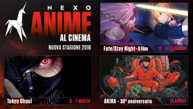 Nexo Anime 2018